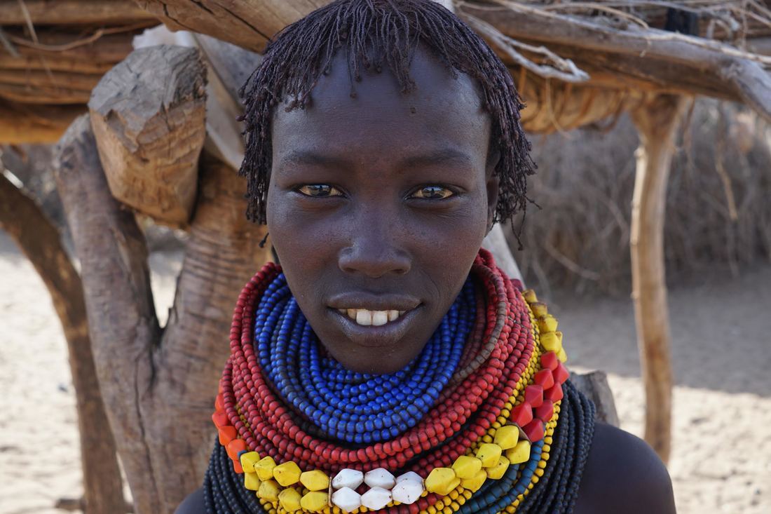Omo Valley Tribal Woman
